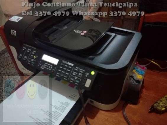 Sistema de tinta continua para impresora hp y canon tegucigalpa