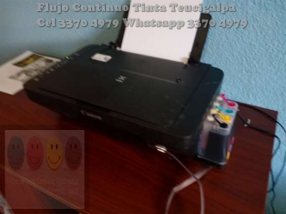 Venta e instalacion de tinta continua para impresora hp y canon