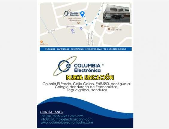 Columbia electronica