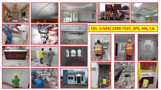 Servicios varios (504) 3390 7597 en sps