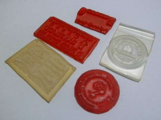 Se fabrican sellos de hule
